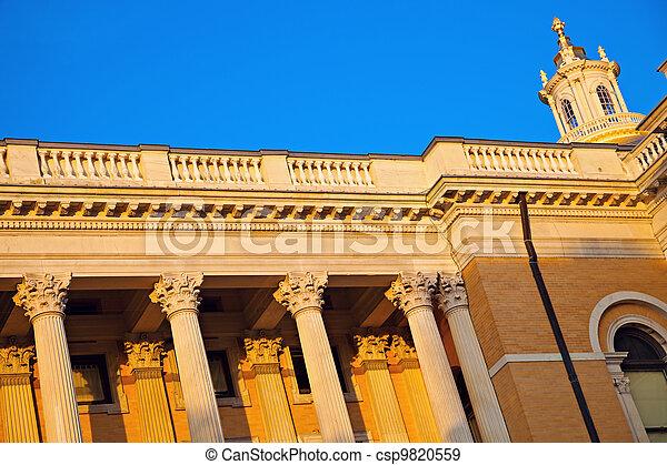 Massachusetts State House - csp9820559