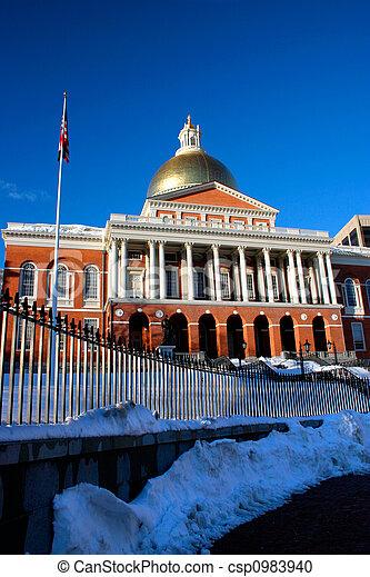 Massachusetts State House - csp0983940