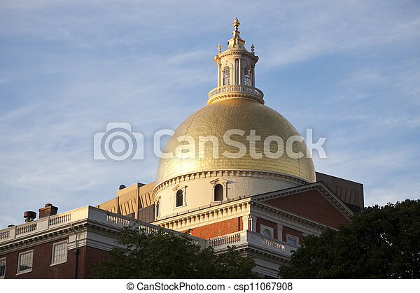 Massachusetts State House - csp11067908