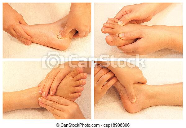 massage collection - csp18908306