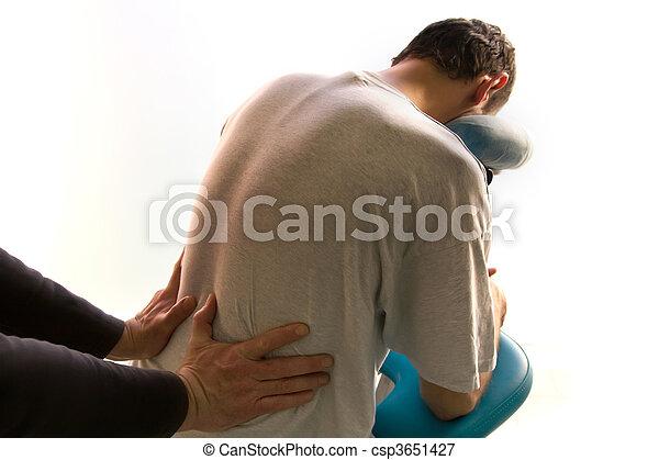 massage - csp3651427