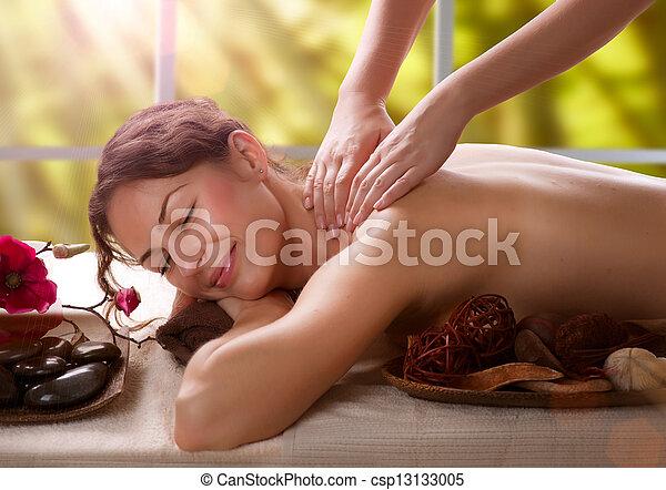 Massage. Spa Salon  - csp13133005