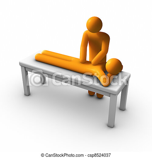 Massage Therapy - csp8524037