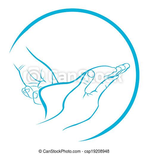 massaggio plantare - csp19208948