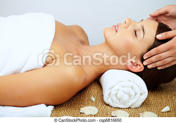 Massaging head  - csp6816650