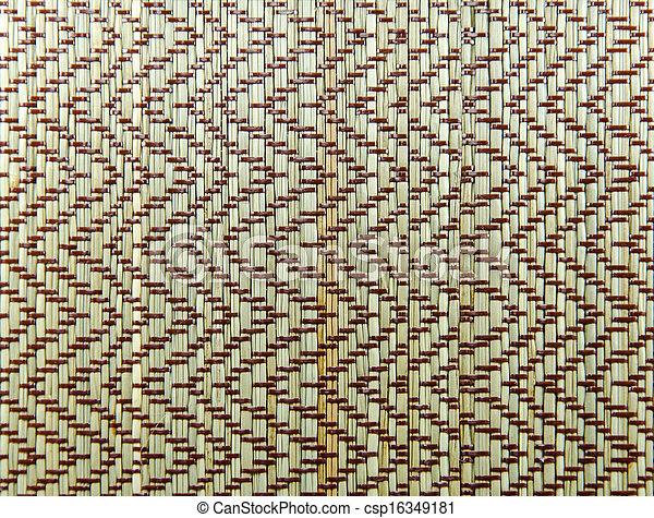 Mat handcraft rattan weave texture mat handcraft rattan for Revetement de sol bolon