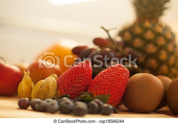 mat, smaklig, kollektion - csp18566244