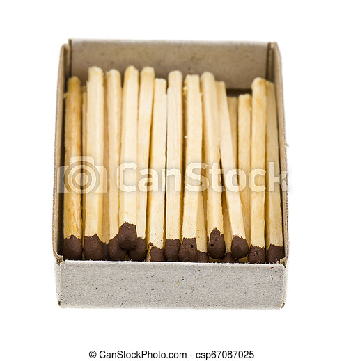 matches isolated on white background - csp67087025
