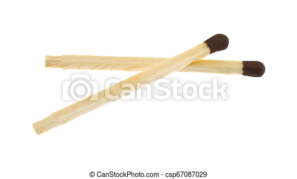 matches isolated on white background - csp67087029