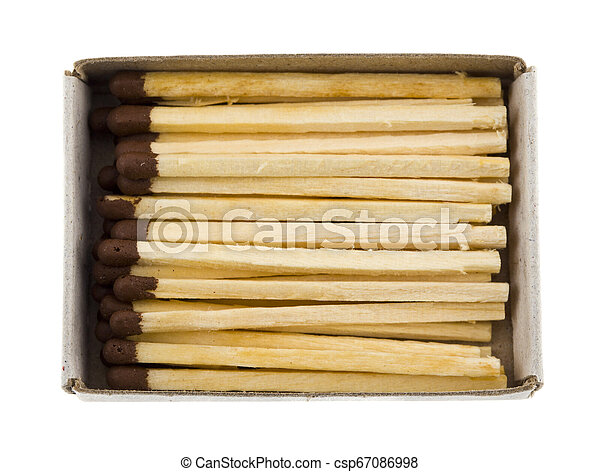 matches isolated on white background - csp67086998