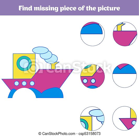 Matching children educational game match insects parts matching children educational game match insects parts find missing puzzle activity for pre vector ccuart Image collections