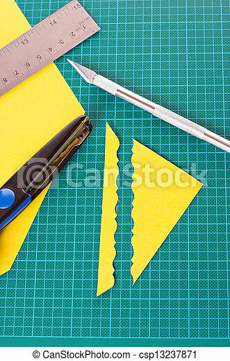 materiaal, scrapbooking - csp13237871