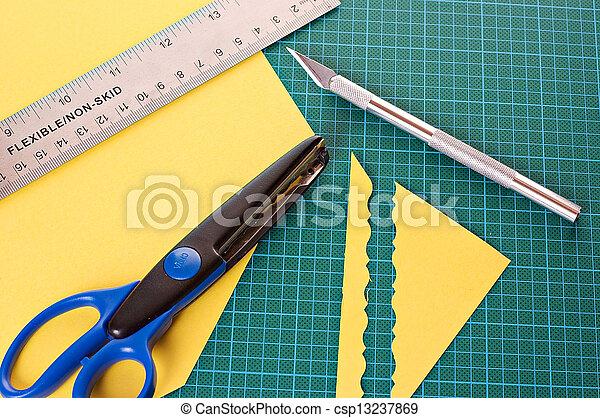 materiaal, scrapbooking - csp13237869