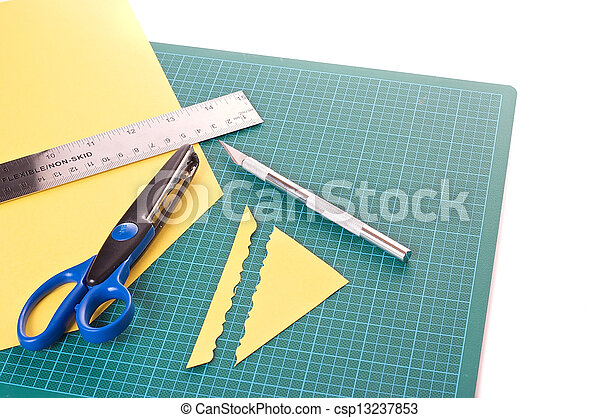 materiaal, scrapbooking - csp13237853