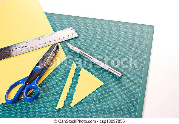 materiaal, scrapbooking - csp13237856
