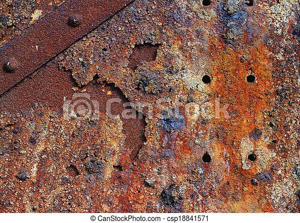 material, metal - csp18841571