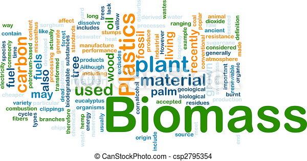 materiale, concetto, biomass, fondo - csp2795354