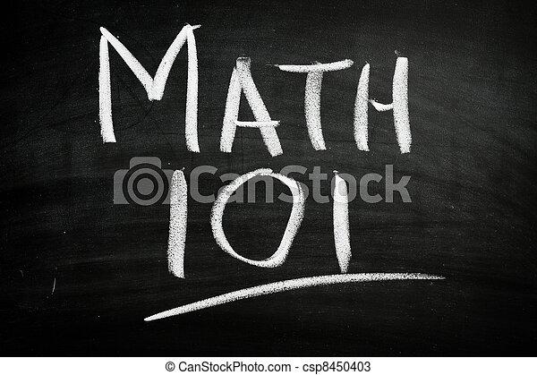 Math 101 - csp8450403