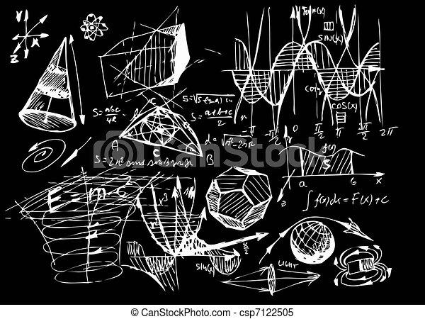 math, géométrie - csp7122505
