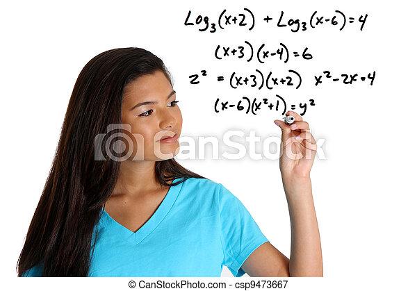 Mathestudent - csp9473667