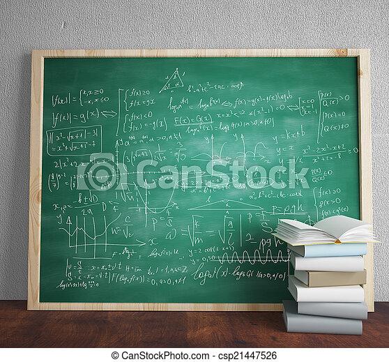 mathematical formulas - csp21447526