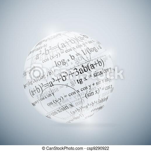 Mathematical sphere - csp9290922
