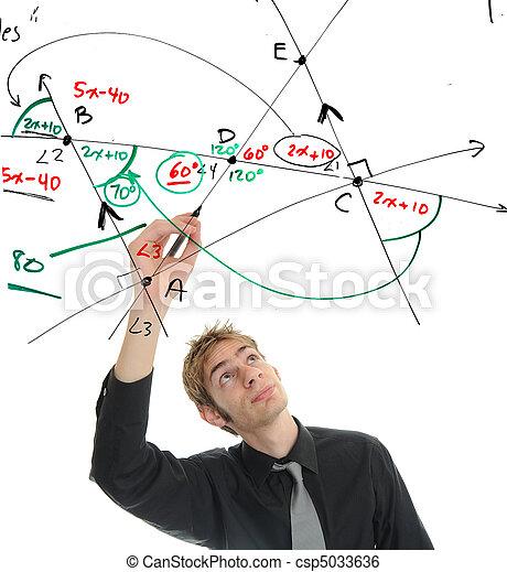 Mathematician - csp5033636