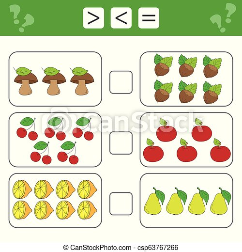 Mathematics Worksheet For Kids Count Educational Children Activity