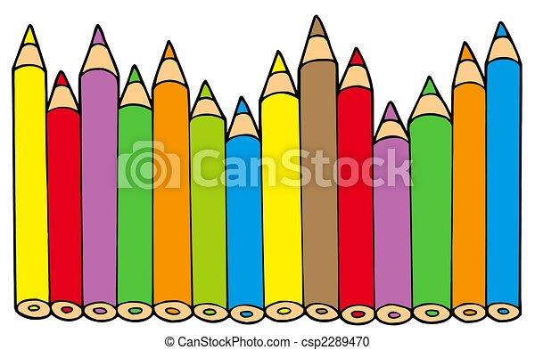 matite, colori, vario - csp2289470