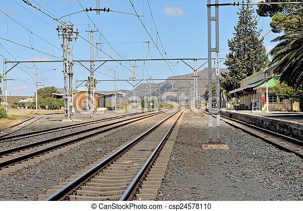 Matjiesfontein station - csp24578110