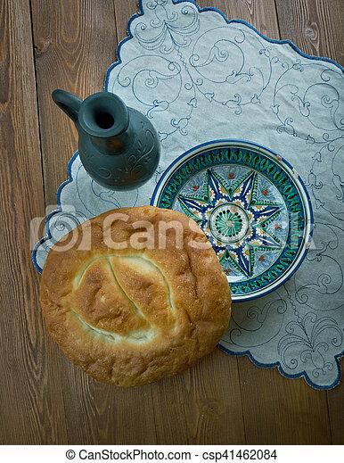Matnakash  bread, - csp41462084