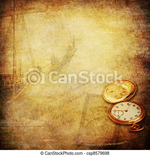 matróz, öreg, honvágy, időmegállapítás, mesék, háttér - csp8579698