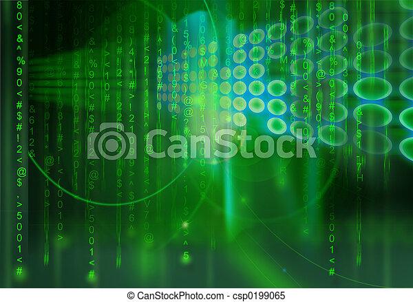Matrix background - csp0199065