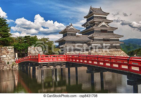 Matsumoto castle - csp8431708