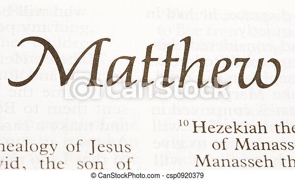 Matthew - csp0920379