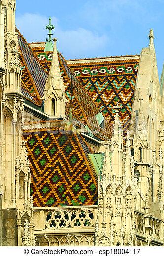 Matthias Church Budapest Hungary. - csp18004117