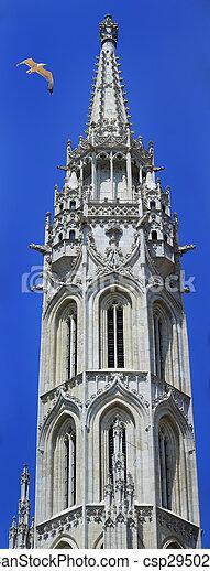 Matthias Church budapest Hungary - csp29502788
