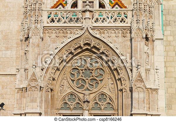 Matthias Church, Budapest, Hungary - csp8166246