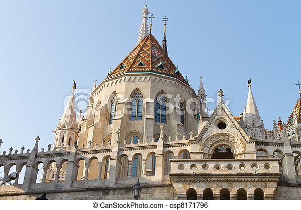 Matthias Church, Budapest, Hungary - csp8171796
