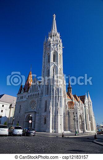 Matthias Church. Budapest, Hungary - csp12183157