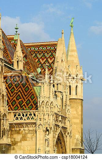 Matthias Church Budapest Hungary. - csp18004124