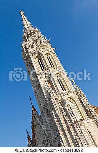 Matthias Church, Budapest, Hungary - csp8413692