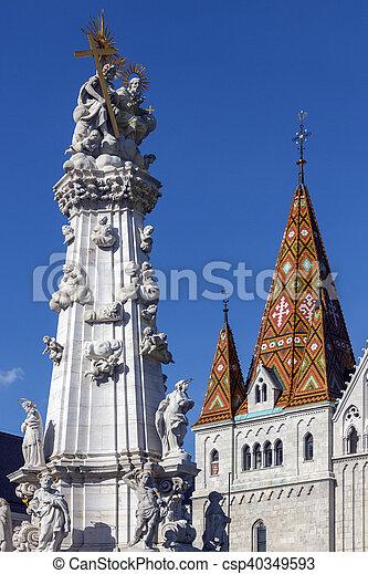 Matthias Church - Budapest - Hungary - csp40349593