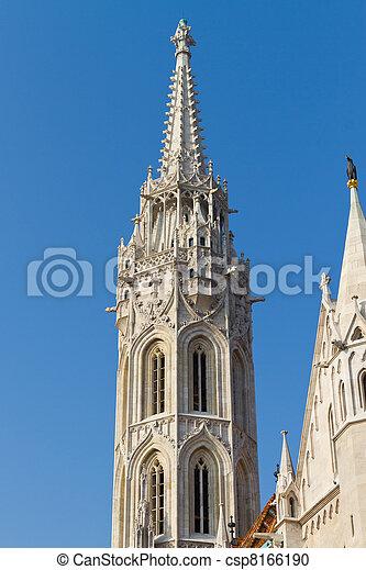 Matthias Church, Budapest, Hungary - csp8166190