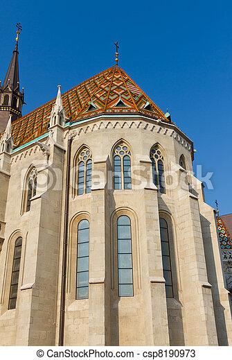 Matthias Church, Budapest, Hungary - csp8190973