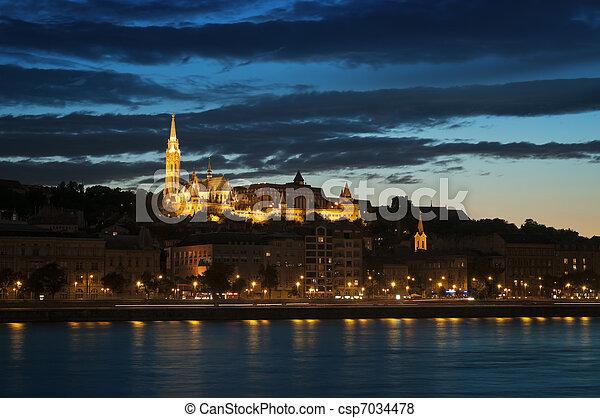 Matthias Church, Budapest - csp7034478