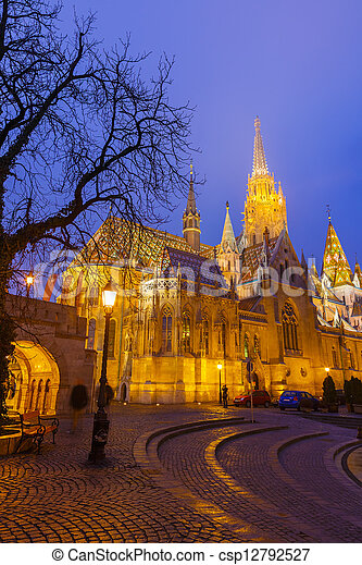 Matthias Church, Budapest - csp12792527