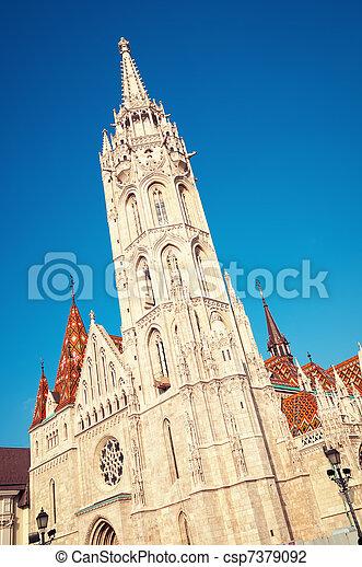 Matthias Church, Budapest - csp7379092