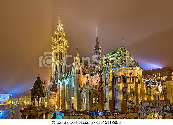 Matthias Church, Budapest - csp15112905