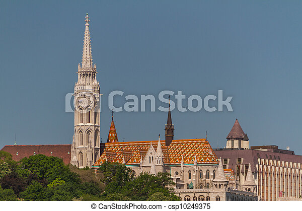 Matthias Church in Budapest, Hungary - csp10249375